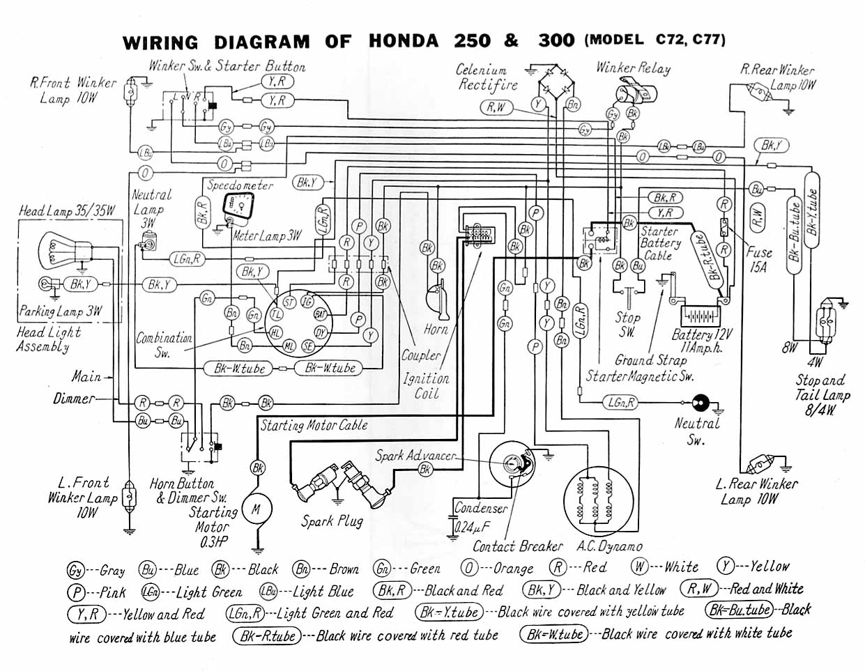 Diagram Of Honda Motorcycle Parts 2008 Cb250 Ac Clutch Diagram