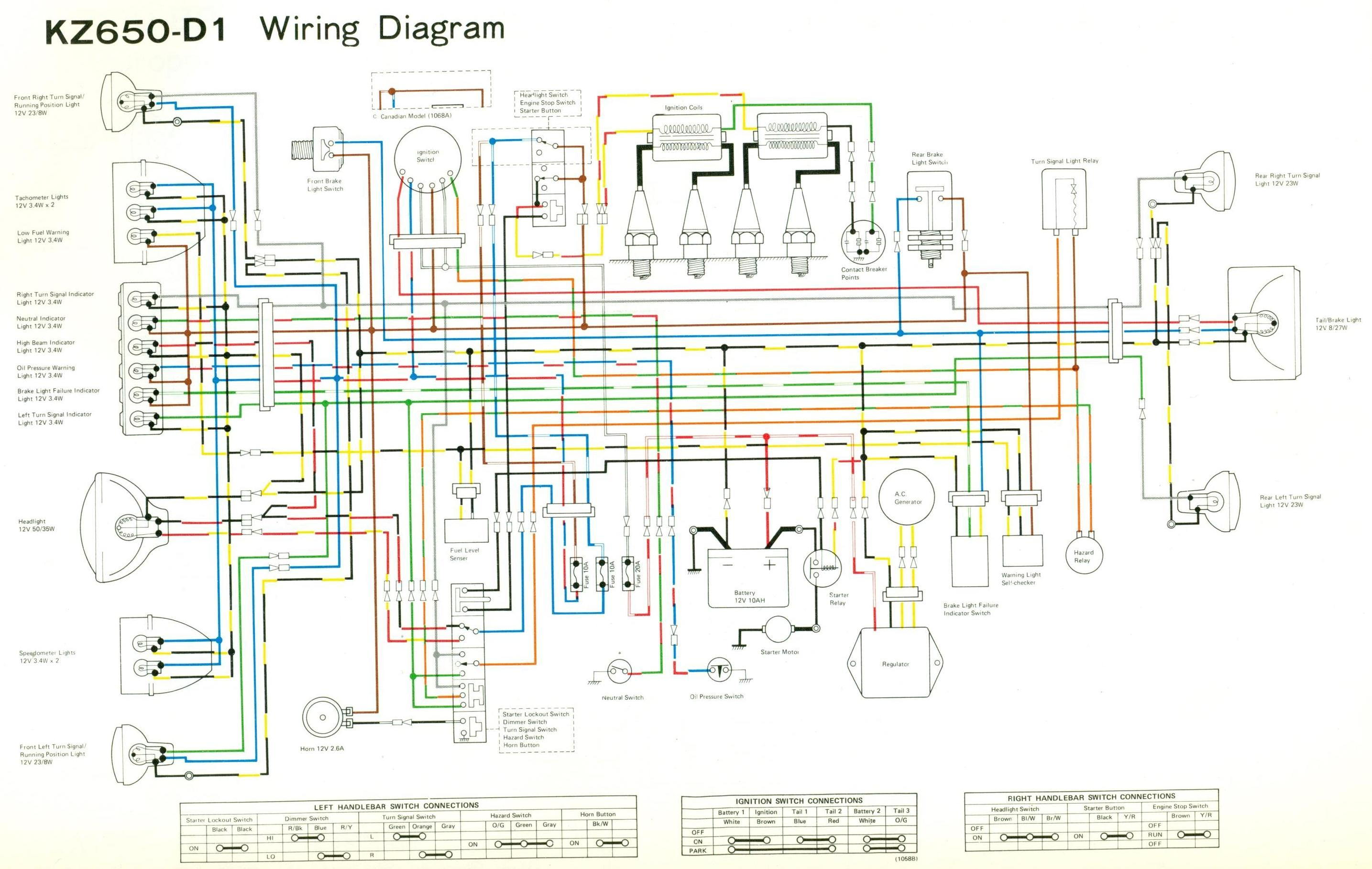 bobber kz650 wiring diagram 77 kz650 wiring diagram #11