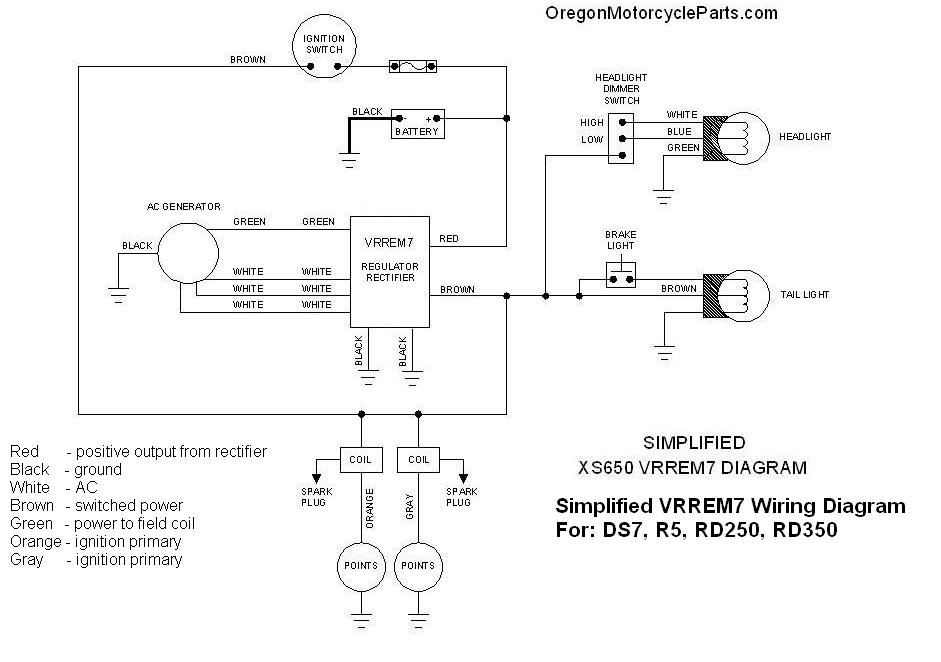OMP_Yam_VRREM7_Wiring_Diagram rd350 regulator rectifier rd 250 wiring diagram at bayanpartner.co